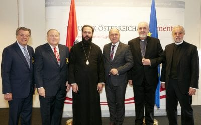 Archons make Religious Freedom Mission to Vienna, Austria, current seat of European Union Presidency