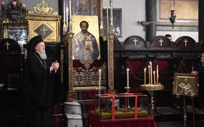 "Ecumenical Patriarch: ""The Church of Constantinople always meets the demands of the times and has a vision for the future"""