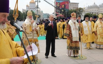 The New York Times : As Ukraine and Russia Battle Over Orthodoxy, Schism Looms